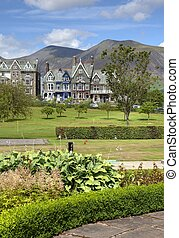 Keswick, Cumbria - Hope Park, Keswick, the Lake District,...