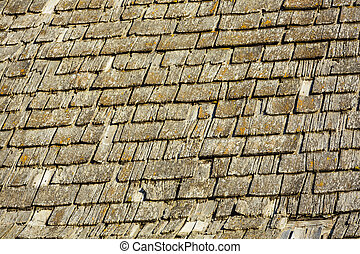 Details of an old Wood Roof
