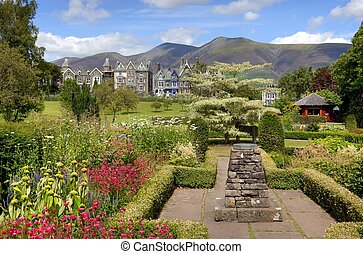 Keswick - Hope Park, Keswick, the Lake District, Cumbria,...