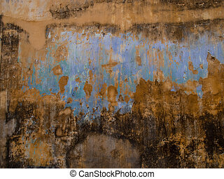 Wall Background, Abstract or Texture. - Close up view of...