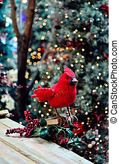 Bird Christmas decoration