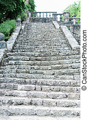 Old Worn Out Steps