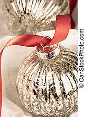 Antique Christmas bauble
