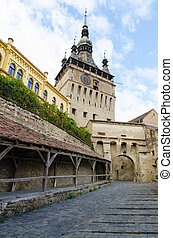 Sighisoara Clock Tower and Old Women's Passage - Clock Tower...