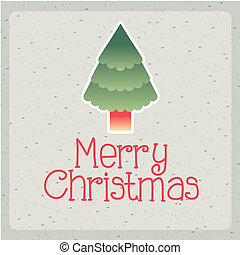 christmas design over pattern background vector illustration
