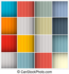 Abstract Retro Square Background
