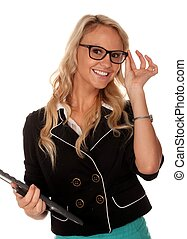 Pretty Executive Woman - Lovely young smiling executive...
