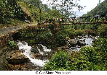 Kukhola falls, Sikkim