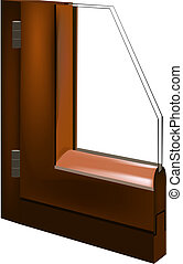 window - portion of the window glass with