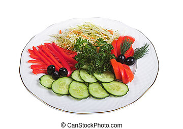 vegetable isolated
