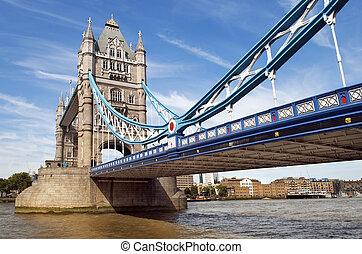 Bridzs, arasz,  UK, központi, bástya,  London