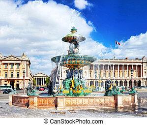 Place de la Concorde , Paris, France.