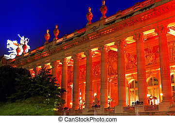 Grand Palais (Grand Palace) in Paris, France. - Grand Palais...