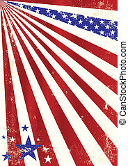 american cool dirty background - A dirty american background...