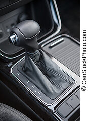 Selector of an automatic transmission gear of car
