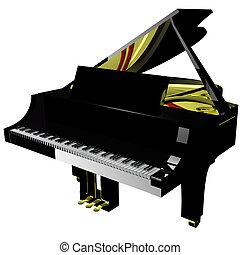 Piano, storslagen