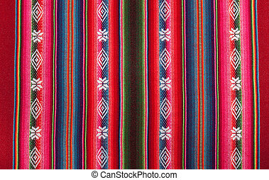 Red bolivian pattern - Red national pattern of bolivian...