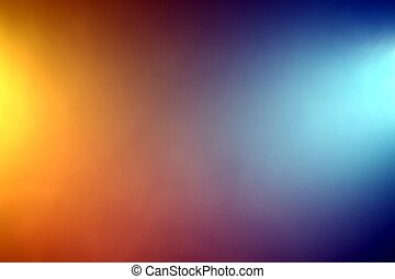 Abstract Backround - Background of orange and blue color...