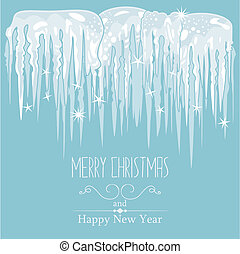 Icicles Background