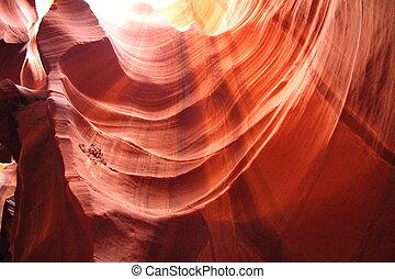 Antilop, kanjon,  3