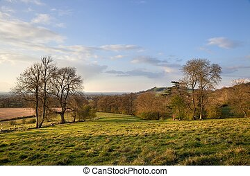 Rural Gloucestershire - Looking towards Meon Hill from...