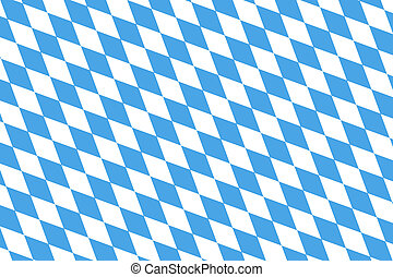 Bavarian Flag Pattern - Blue White checked pattern for the...