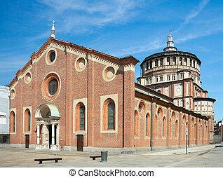 Chiesa di Santa Maria delle Grazie1497, Milan, Italy -...