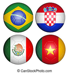 world cup 2014 group A