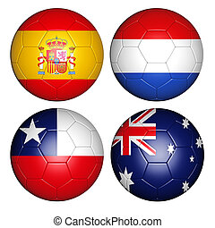world cup 2014 group B - Brazil world cup 2014 group B flags...