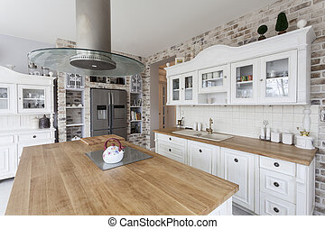 Tuscany - kitchen shelves - Tuscany - white kitchen shelves...