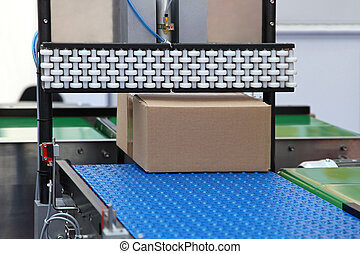 Packaging handling - Packaging and handling goods at...