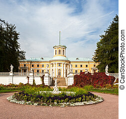 Museum-Estate of Arkhangelskoye. Grand Palace....