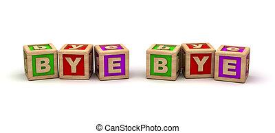 Bye Bye Play Cubes