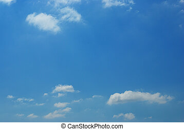 Clear sky with little of cloud use for background
