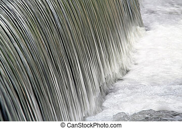 Ebb and flow - Flowing waterfall (motion intensive)
