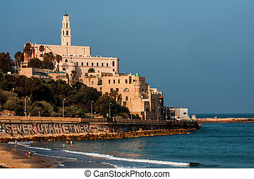 Jaffa  - Old Jaffa seascape view , Israel