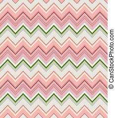 geometric pattern with Zig zag stripes