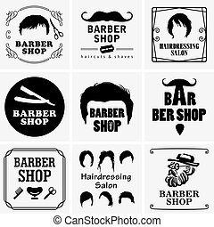 理髪店, グラフィックス
