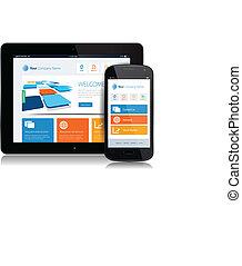 Smartphone Tablet Internet