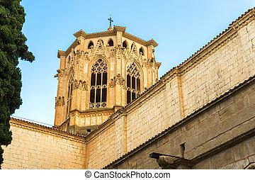 Poblet, monasterio, Barcelona, Cataluña, españa
