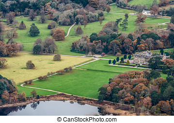 Muckross House View From Torc Summit,Killarney National...
