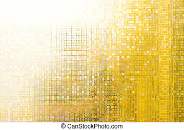 Shining background beautiful yellow reflex