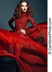 High fashion look.glamor portrait - High fashion look.glamor...