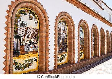 Competa, Malaga, Spain