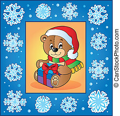 Christmas topic greeting card 1