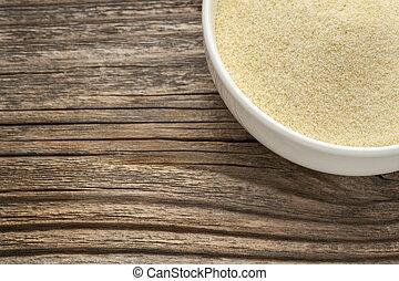 farinha, trigo,  semolina
