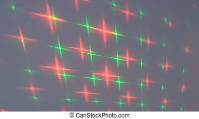 Laser light - Abstract shapes the laser light source