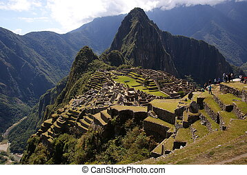 Mysterious city Machu Picchu, Peru