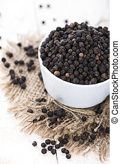 Black Pepper - Fresh Black Pepper (studio shot)