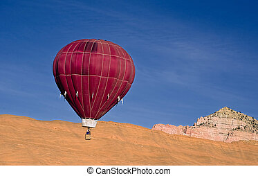 Hot Air Balloon - Hot air ballon in New Mexico With great...
